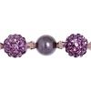 Shamballa Beads Violet 8In Strand